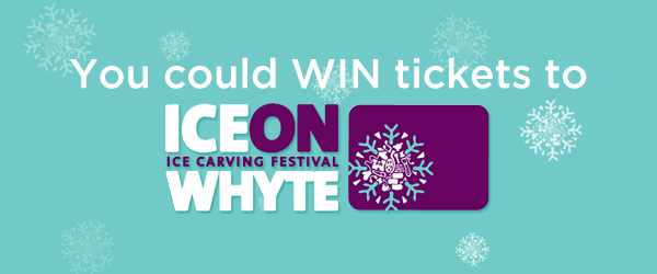 You could WIN tickets to Ice on Whyte 2017!
