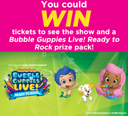 Bubble Guppies Contest