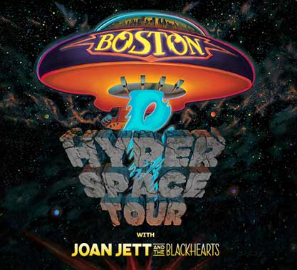 Boston: Hyper Space Tour: Boston with Joan Jett & The Blackhearts Contest