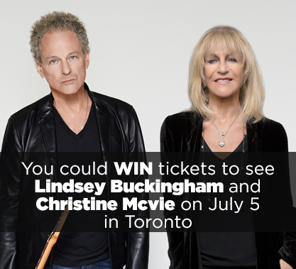 Lindsey Buckingham and Christine Mcvie Contest