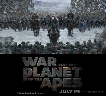 War for the Planet of the Apes Contest