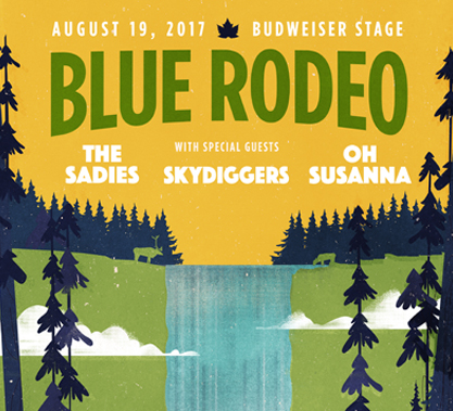 Blue Rodeo Contest