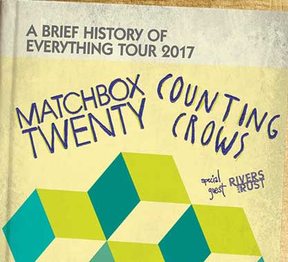 Matchbox Twenty and Counting Crows Contest